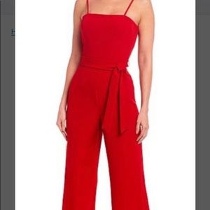Gianni Bini Red Jumpsuit